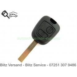 Autoschlüssel Gehäuse Citroen 2 Tasten NE78