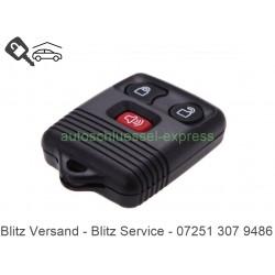 Autoschlüssel Gehäuse FORD Transit 3 Tasten mit Alarm Taste Fernbedienung