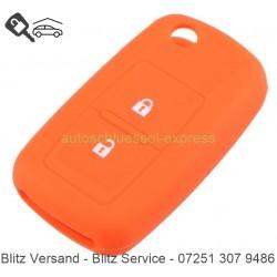 Autoschlüssel Silikonhülle VW 2 Tasten orange