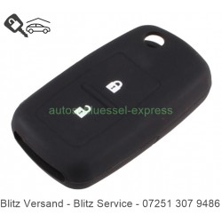 Autoschlüssel Silikonhülle VW 2 Tasten schwarz