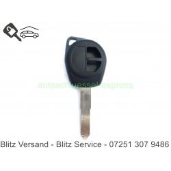 Autoschlüssel Gehäuse Suzuki Swift Liana Rohling HU133 ohne Gummitasten