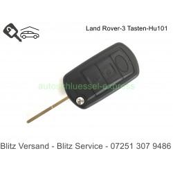 Flip Folding Key HU101 Land Rover Discovery Freelander Evoque Sport Vogue 3 buttons