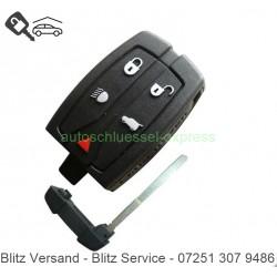 Flip Folding Key HU101 Land Rover Freelander 5 buttons