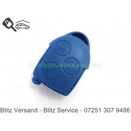 Gehäuse Autoschlüssel für Transit Connect 3 Tasten blau Fernbedienung
